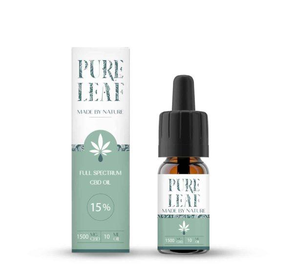 Huile de CBD Pure Leaf 15%